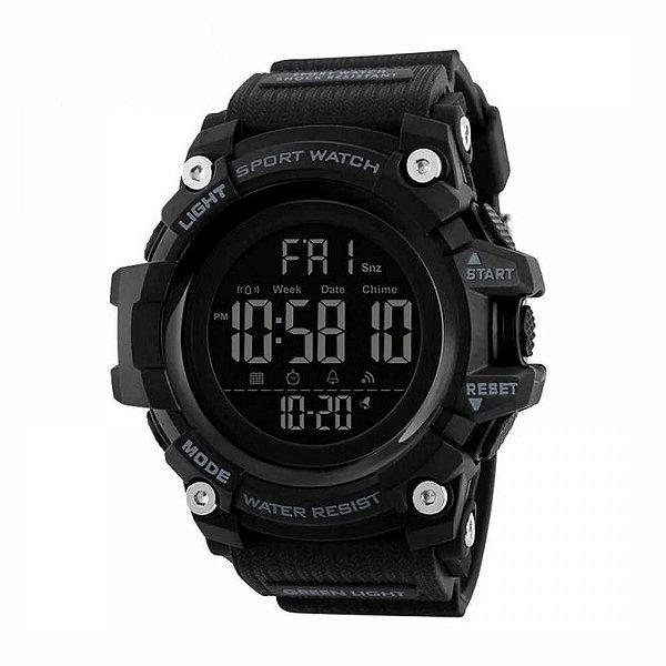 Relógio Masculino Skmei Digital 1384 Preto