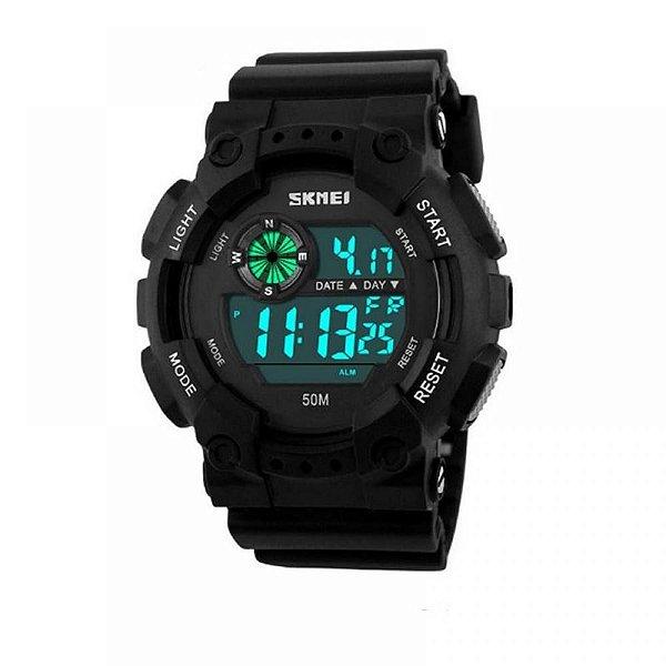 Relógio Masculino Skmei Digital 1101 Preto