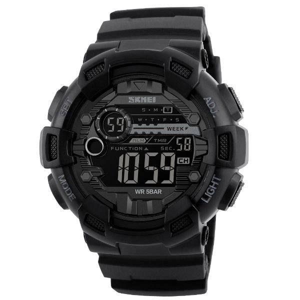 Relógio Masculino Skmei Digital 1243 Preto