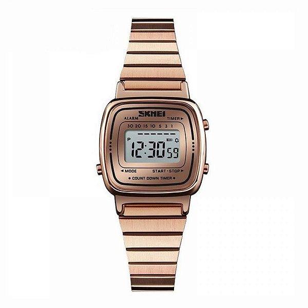Relógio Feminino Skmei Digital 1252 - Rose