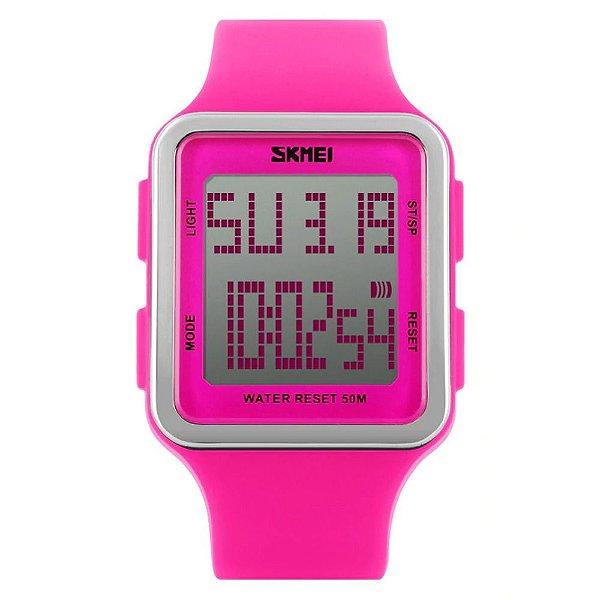 Relógio Feminino Skmei Digital 1139 - Rosa