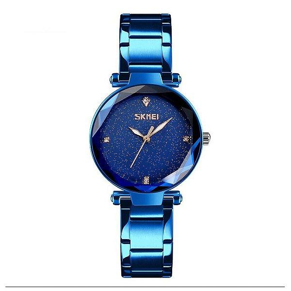Relógio Feminino Skmei Analógico 9180 - Azul