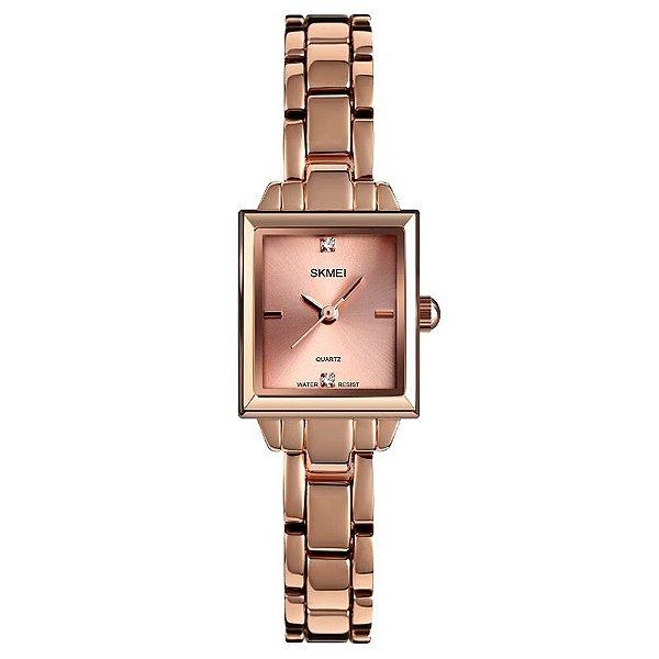 Relógio Feminino Skmei Analógico 1407 - Rosé