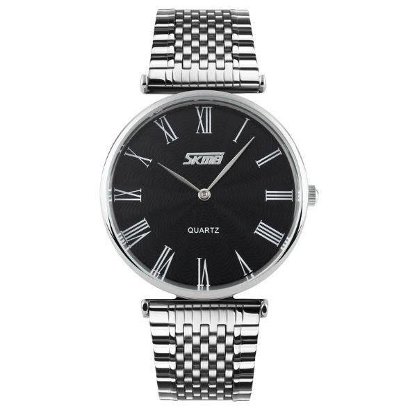 Relógio Feminino Skmei Analógico 9105 - Prata e Preto