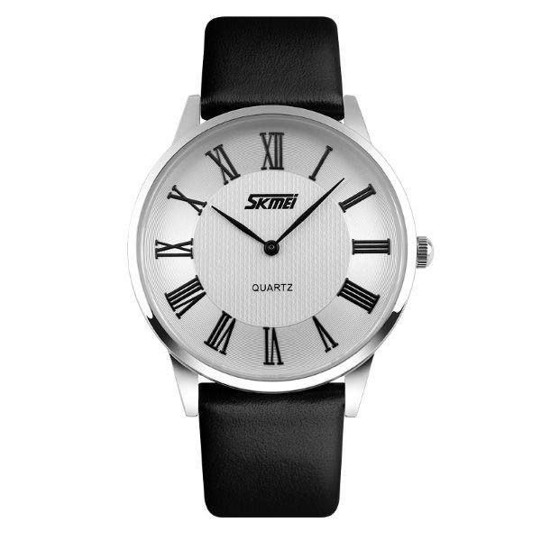 Relógio Feminino Skmei Analógico 9092 - Preto e Prata
