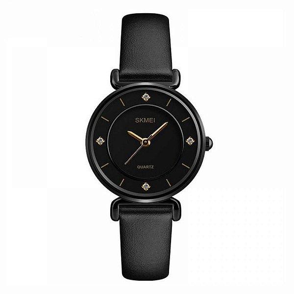 Relógio Feminino Skmei Analógico 1330 Preto
