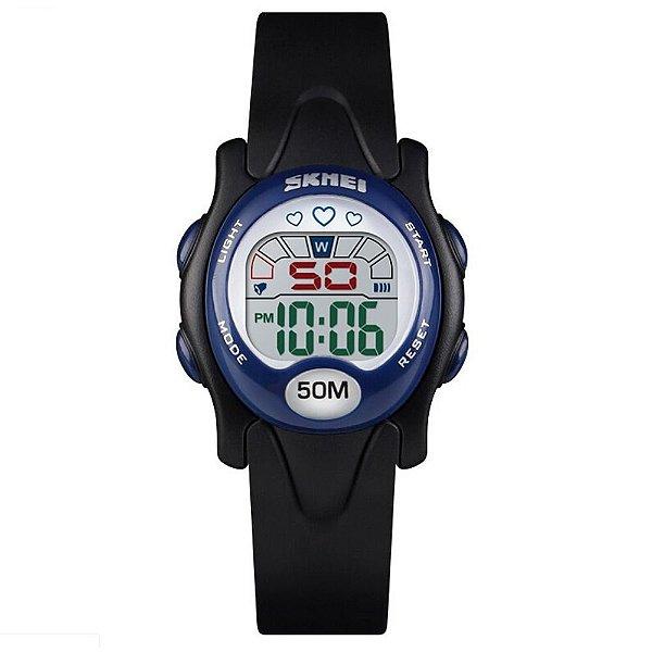 Relógio Infantil Skmei Digital 1478 Preto