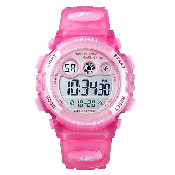 Relógio Infantil Skmei Digital 1451 Rosa