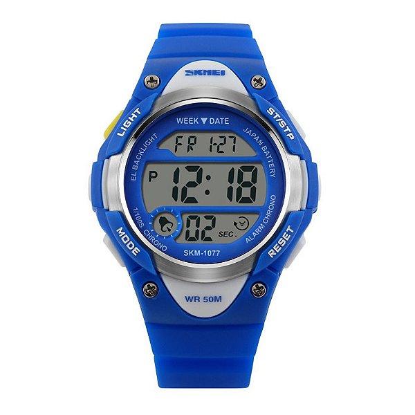 Relógio Infantil Skmei Digital 1077 Azul