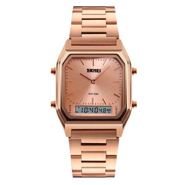 Relógio Unissex Skmei AnaDigi 1220 - Rose