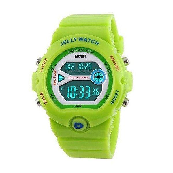 Relógio Infantil Menino Skmei Digital 1153 - Verde