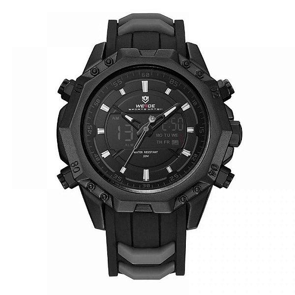 Relógio Masculino Weide AnaDigi WH-6406 - Preto