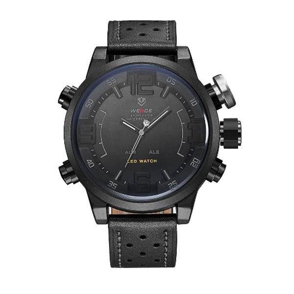 Relógio Masculino Weide AnaDigi WH-5210 - Preto e Cinza