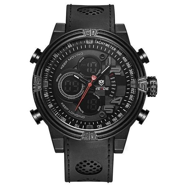 Relógio Masculino Weide AnaDigi WH-5209 - Preto