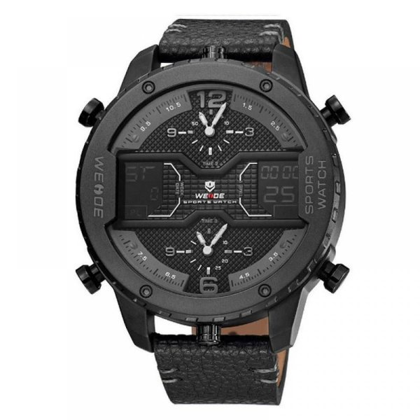 Relógio Masculino Weide AnaDigi WH-6401 - Preto