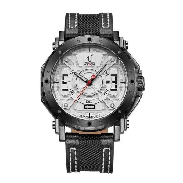Relógio Masculino Weide Analógico UV-1601 Branco