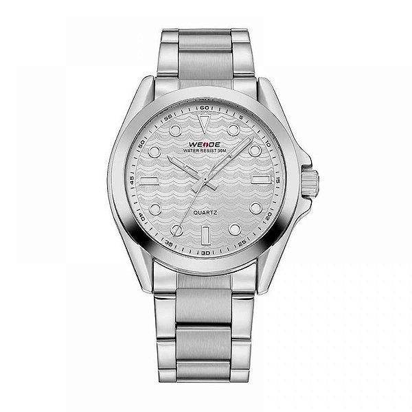 Relógio Masculino Weide Analógico WH-802 - Prata