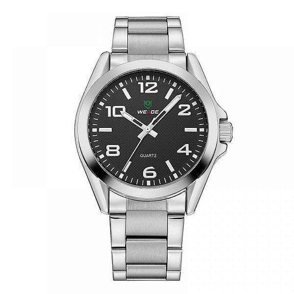 Relógio Masculino Weide Analógico WH-801G - Prata e Preto