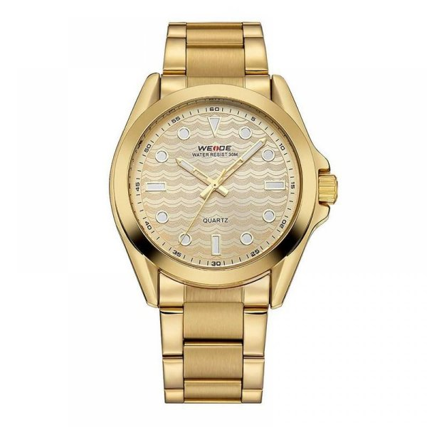 Relógio Masculino Weide Analógico WH-802 - Dourado