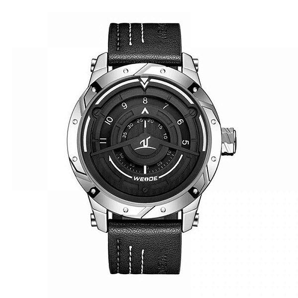 Relógio Masculino Weide Analógico UV-1708 - Preto e Prata