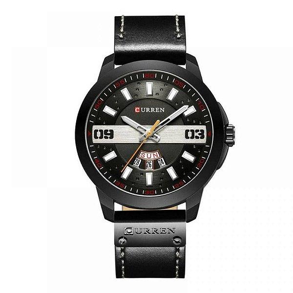 Relógio Masculino Curren Analógico 8286 - Preto