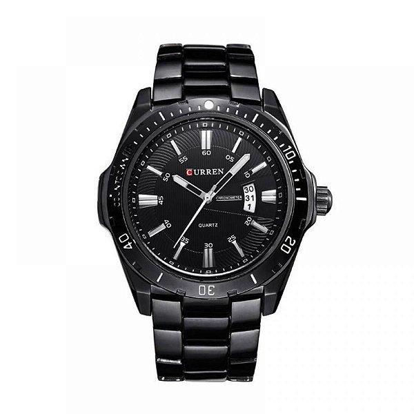 Relógio Masculino Curren Analógico 8110 - Preto