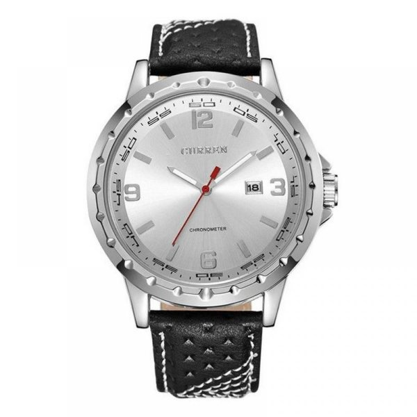 Relógio Masculino Curren Analógico 8120 - Preto e Prata