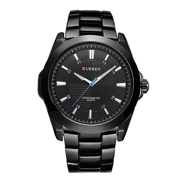 Relógio Masculino Curren Analógico 8109 - Preto
