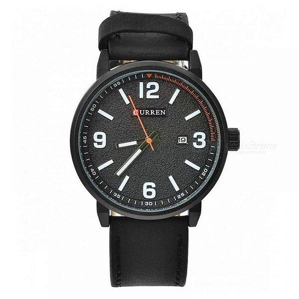 Relógio Masculino Curren Analógico 8218 - Preto
