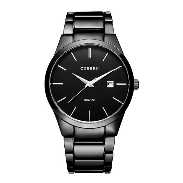 Relógio Masculino Curren Analógico 8106 - Preto