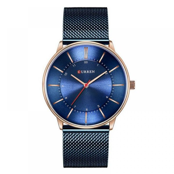 Relógio Masculino Curren Analógico 8303 - Azul