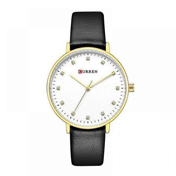 Relógio Feminino Curren Analógico C9023L - Preto