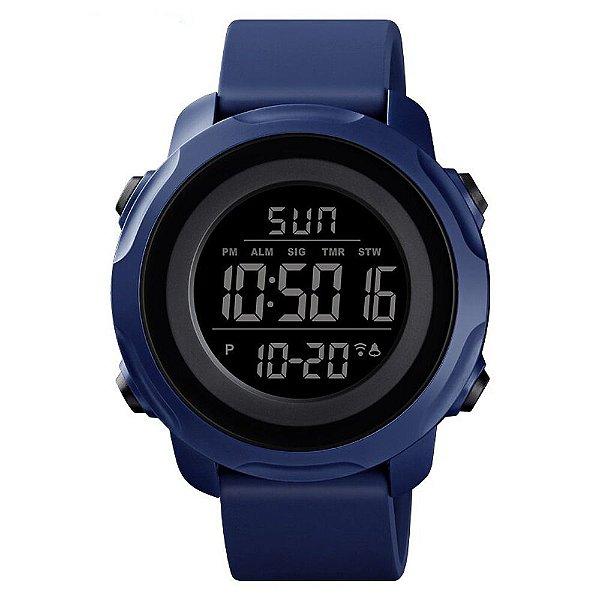Relógio Masculino Skmei Digital 1540 - Azul e Preto