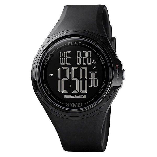 Relógio Masculino Skmei Digital 1602 - Preto