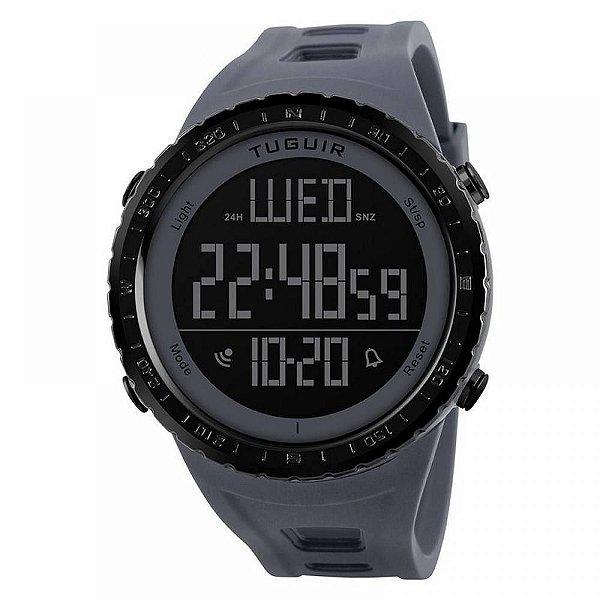 Relógio Masculino Tuguir Digital TG1246 - Cinza