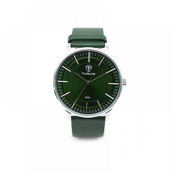 Relógio Masculino Tuguir Analógico 5000 Verde