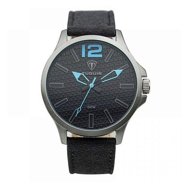 Relógio Masculino Tuguir Analógico 5546G - Cinza