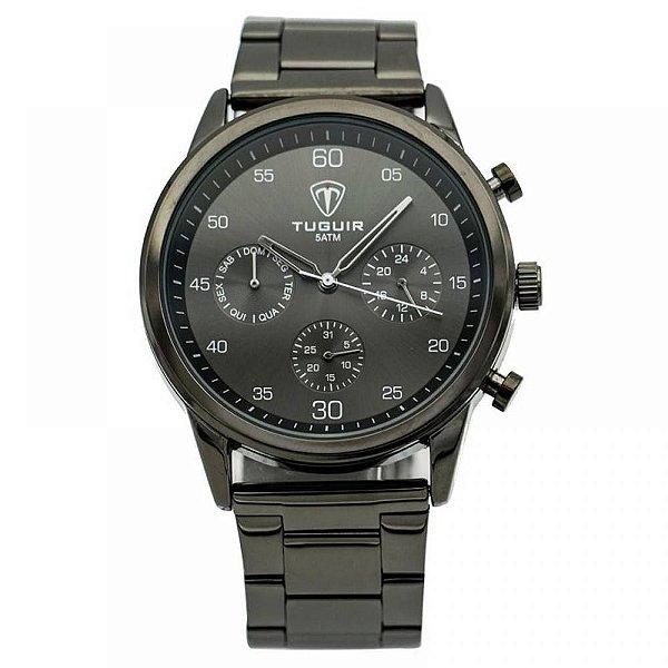 Relógio Masculino Tuguir Analógico 5327G Preto