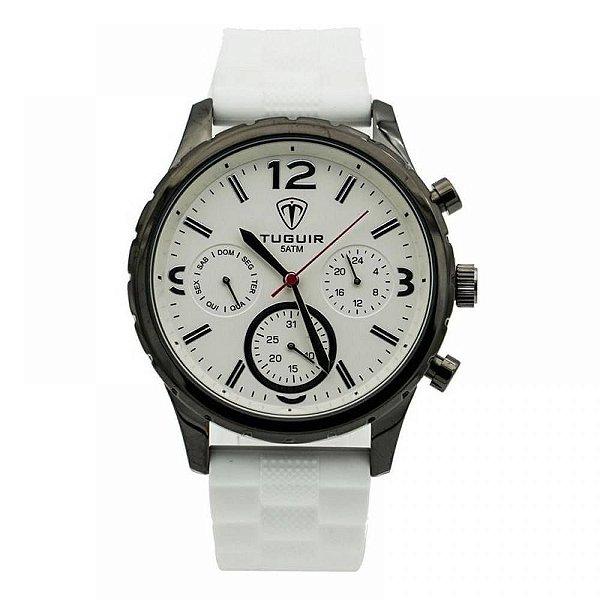 Relógio Masculino Tuguir Analógico 5425G Branco
