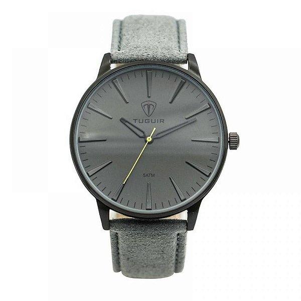 Relógio Masculino Tuguir Analógico 5273G - Cinza e Preto
