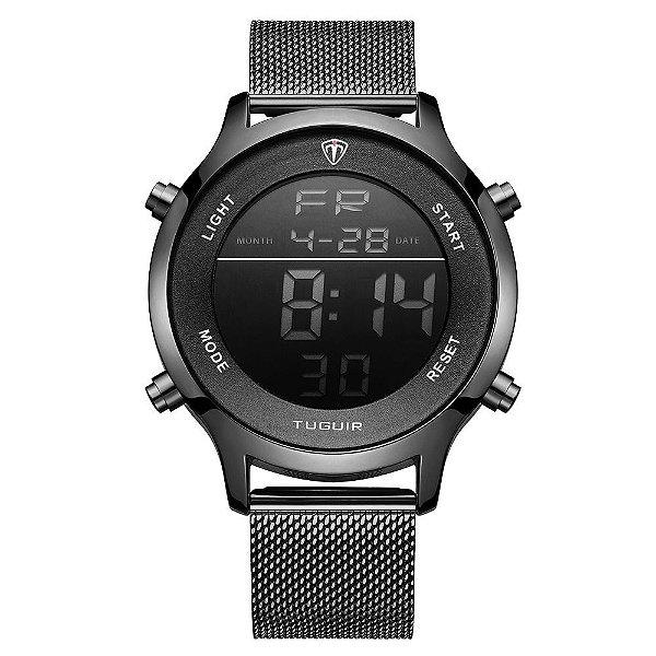 Relógio Unissex Tuguir Digital TG101 - Preto