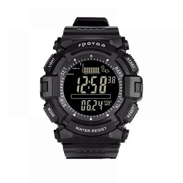 Relógio Masculino Spovan Digital SPV706 Preto