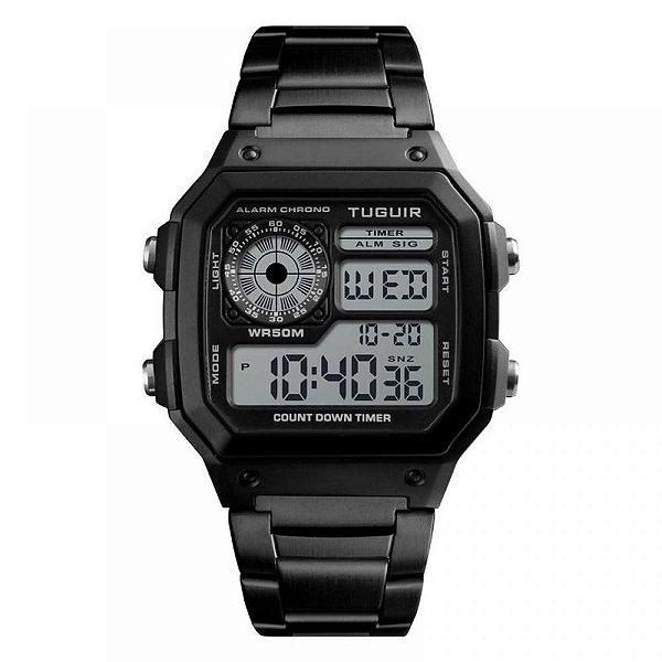 Relógio Unissex Tuguir Digital TG1335 - Preto