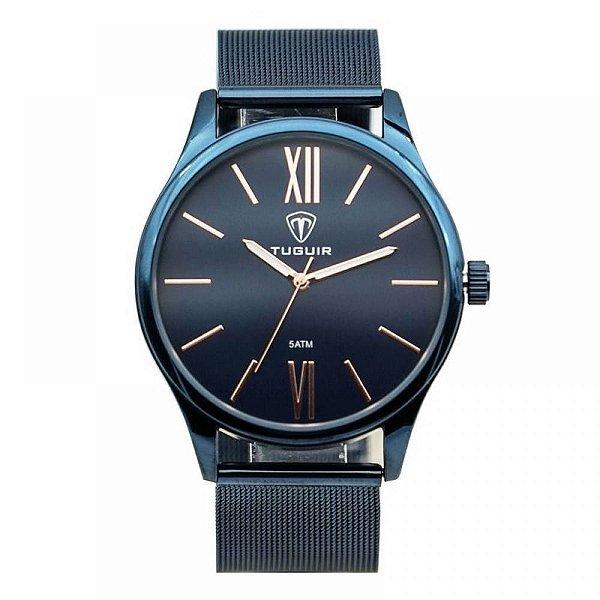 Relógio Unissex Tuguir Analógico 5316G - Azul