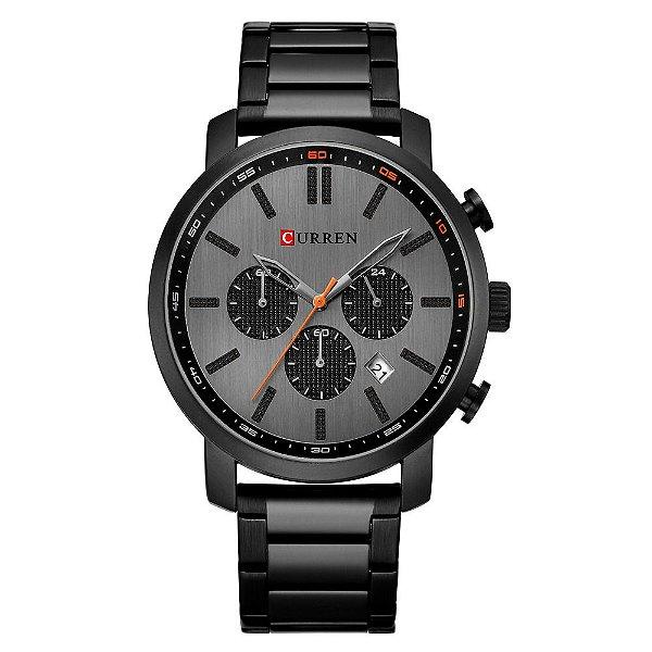 Relógio Masculino Curren Analógico 8315 - Preto