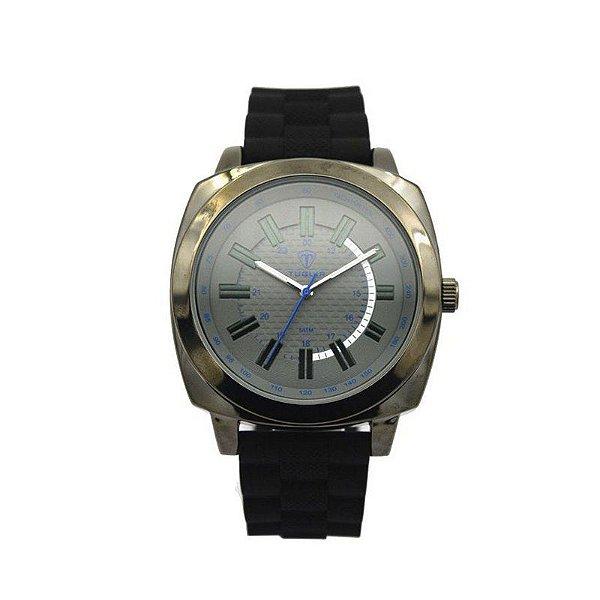 Relógio Masculino Tuguir Analógico 5014 Preto