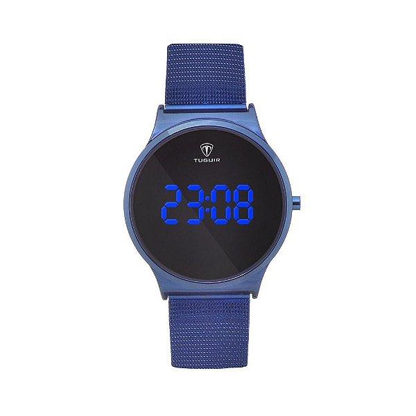 Relógio Feminino Tuguir Digital TG107 - Azul