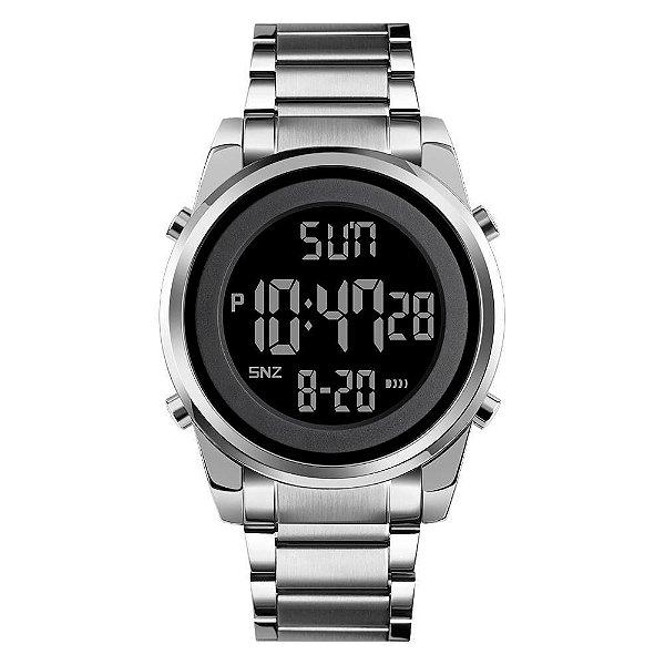 Relógio Masculino Skmei Digital 1611 - Prata