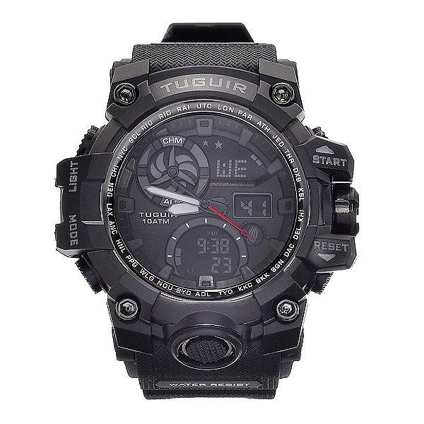 Relógio Masculino Tuguir 10ATM AnaDigi TG108 - Preto