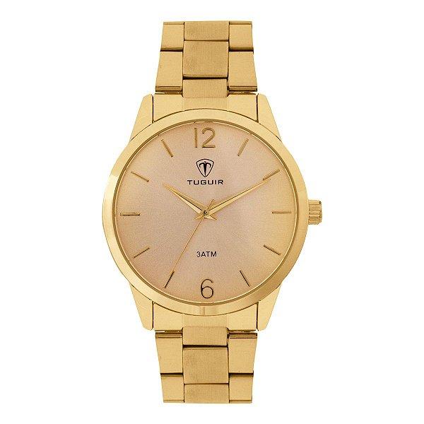 Relógio Feminino Tuguir Analógico TG112 - Dourado